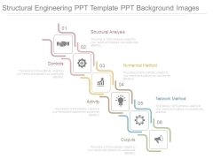 Structural Engineering Ppt Template Ppt Background Images