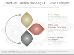 Structural Equation Modeling Ppt Slides Examples
