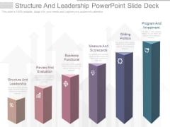 Structure And Leadership Powerpoint Slide Deck
