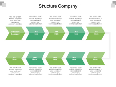 Structure Company Ppt PowerPoint Presentation Show Infographics Cpb Pdf