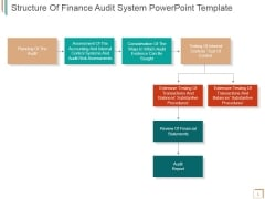 Structure Of Finance Audit System Ppt PowerPoint Presentation Templates