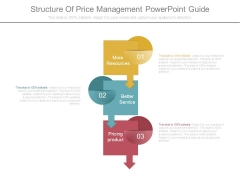 Structure Of Price Management Powerpoint Guide