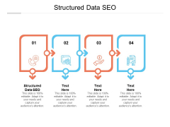 Structured Data SEO Ppt PowerPoint Presentation Model Shapes Cpb
