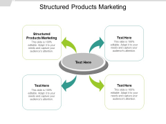 Structured Products Marketing Ppt PowerPoint Presentation Styles Structure Cpb