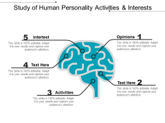 Study Of Human Personality Activities And Interests Ppt PowerPoint Presentation File Styles