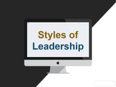 Styles Of Leadership Ppt PowerPoint Presentation Background Designs