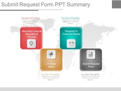 Submit Request Form Ppt Summary