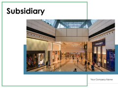 Subsidiary Globe Food Item Ppt PowerPoint Presentation Complete Deck