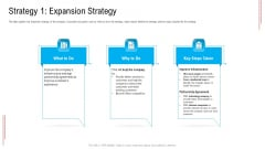 Substandard Network Infrastructure A Telecommunication Firm Case Competition Strategy 1 Expansion Strategy Sample PDF