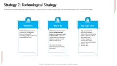Substandard Network Infrastructure A Telecommunication Firm Case Competition Strategy 2 Technological Strategy Pictures PDF