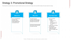 Substandard Network Infrastructure A Telecommunication Firm Case Competition Strategy 3 Promotional Strategy Summary PDF