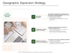 Substitute Financing Pitch Deck Geographic Expansion Strategy Designs PDF