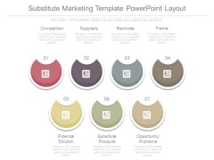 Substitute Marketing Template Powerpoint Layout