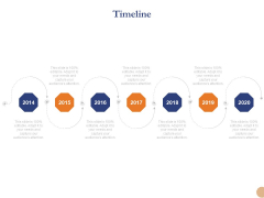 Substructure Segment Analysis Timeline Ppt Model Layout PDF