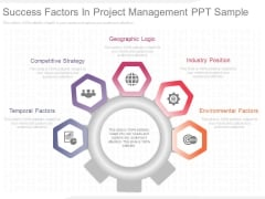 Success Factors In Project Management Ppt Sample