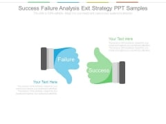 Success Failure Analysis Exit Strategy Ppt Samples