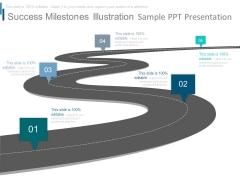 Success Milestones Illustration Sample Ppt Presentation