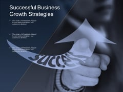 Successful Business Growth Strategies Ppt PowerPoint Presentation Pictures Example