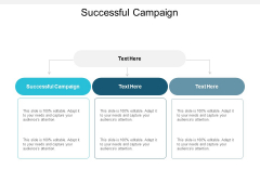 Successful Campaign Ppt PowerPoint Presentation Infographic Template Picture Cpb