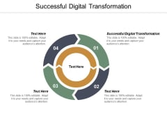Successful Digital Transformation Ppt PowerPoint Presentation File Designs Cpb