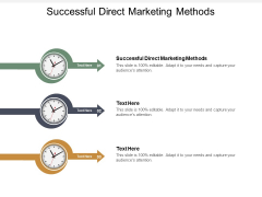 Successful Direct Marketing Methods Ppt PowerPoint Presentation Model Icon Cpb