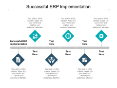Successful ERP Implementation Ppt PowerPoint Presentation Styles Pictures Cpb