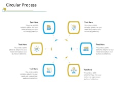 Successful Mobile Strategies For Business Circular Process Portrait PDF