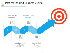 Successful Mobile Strategies For Business Target For The Next Business Quarter Download PDF