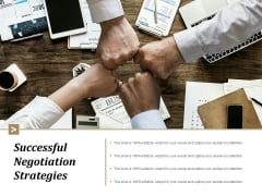 Successful Negotiation Strategies Ppt Powerpoint Presentation Inspiration Samples
