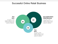 Successful Online Retail Business Ppt PowerPoint Presentation Infographic Template Format Ideas Cpb