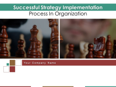 Successful Strategy Implementation Process In Organization Ppt PowerPoint Presentation Complete Deck With Slides