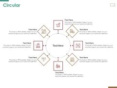 Successful Strategy Implementation Process Organization Circular Slides PDF