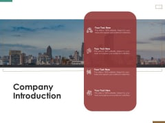 Successful Strategy Implementation Process Organization Company Introduction Background PDF