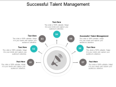 Successful Talent Management Ppt PowerPoint Presentation Gallery Topics Cpb