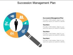 Succession Management Plan Ppt Powerpoint Presentation Visual Aids Ideas Cpb