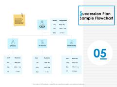 Succession Plan Sample Flowchart Ppt PowerPoint Presentation Professional Format