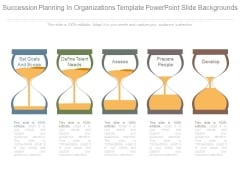 Succession Planning In Organizations Template Powerpoint Slide Backgrounds
