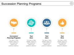 Succession Planning Programs Ppt Powerpoint Presentation Professional Structure Cpb