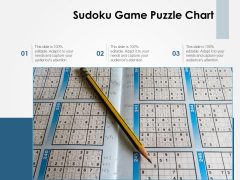Sudoku Game Puzzle Chart Ppt PowerPoint Presentation Pictures Introduction PDF