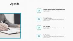 Summary Implementation Strategies Agenda Ppt Infographics Good PDF