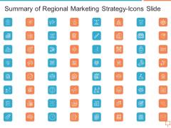 Summary Of Regional Marketing Strategy Summary Of Regional Marketing Strategy-Icons Slide Infographics PDF