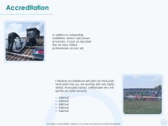 Sun Energy Dealing Accreditation Ppt Ideas Example PDF