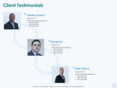 Sun Energy Dealing Client Testimonials Ppt Pictures Background Designs PDF
