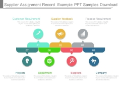 Supplier Assignment Record Example Ppt Samples Download