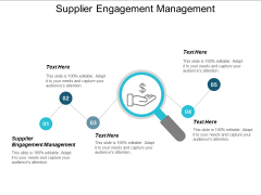 Supplier Engagement Management Ppt PowerPoint Presentation Show Aids Cpb