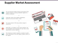 Supplier Market Assessment Ppt PowerPoint Presentation Pictures Portfolio