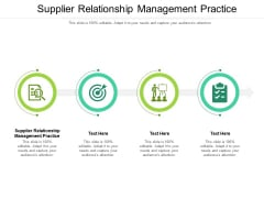 Supplier Relationship Management Practice Ppt PowerPoint Presentation Gallery Layouts Cpb Pdf