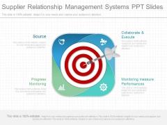 Supplier Relationship Management Systems Ppt Slides