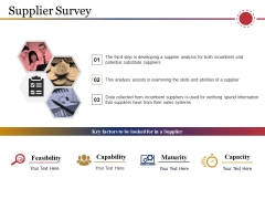 Supplier Survey Ppt PowerPoint Presentation Ideas Background Images