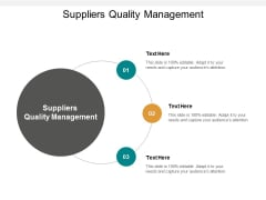 suppliers quality management ppt powerpoint presentation summary icon cpb